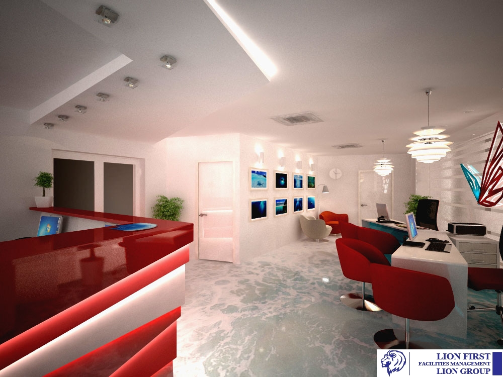 Interior Design And FitOut Services Lion First Facilities Gorgeous Interior Design Management